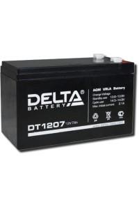 Delta DT 1207 Аккумулятор герметичный свинцово-кислотный