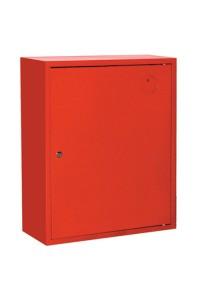 Ш-ПК-001НЗК (ПК-310НЗК) лев. Шкаф пожарный навесной закрытый красный