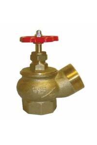 Вентиль КПЛ 50-1 угловой латунь (муфта-цапка) Вентиль угловой латунный