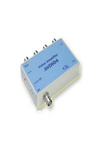 AVD104 Разветвитель-усилитель видеосигнала, 1 вход, 4 выхода