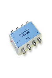 AVD404 Разветвитель-усилитель видеосигнала, 4 входа, 4 выхода