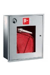 Ш-ПК-001ВОБ (ПК-310ВОБ) Шкаф пожарный встроенный со стеклом белый