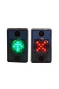 MNEMO-KZ Светодиодная мнемосхема «красный крест», «зеленая стрелка»