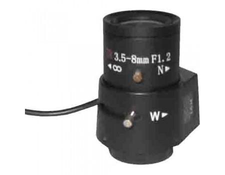 RVi-0358AIR Объектив вариофокальный с автоматической диафрагмой (АРД)
