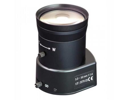 ViR50500D-CS (DW50500DIR-CS) Объектив вариофокальный с автоматической диафрагмой (АРД)