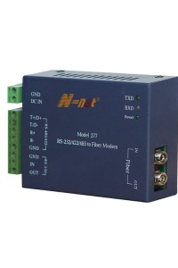 NT-277S Преобразователь интерфейсов RS-232/422/485 в оптику