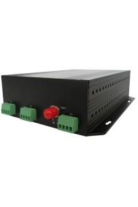 NT-D000-8TK-20 Комплект оптический приемник-передатчик видеосигнала