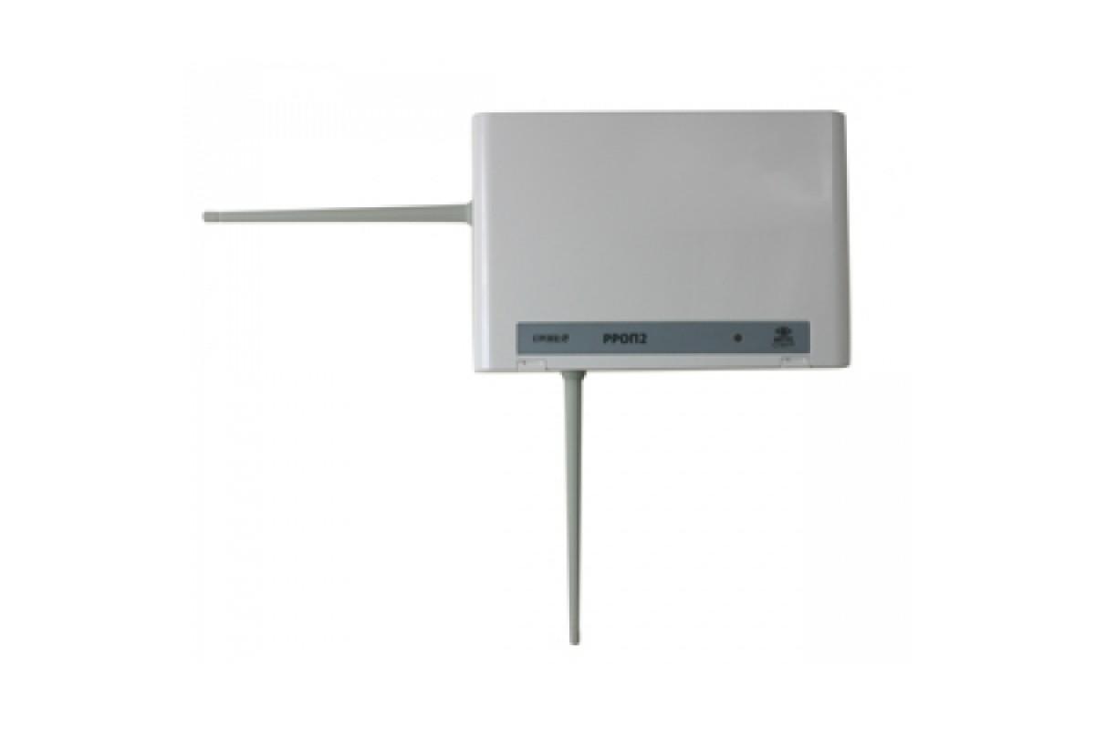 При подключени к радиорасширителю по wirelex выдает сообщение