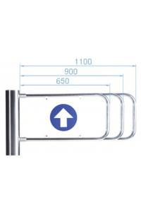 PERCo-AG-650 Створка для калитки
