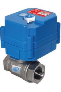 """HC12B 1/2"""" (Стрелец®) сечение 1/2 дюйма Кран шаровой с электроприводом"""