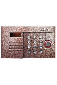 DP300-RDC16 (медь) Блок вызова домофона