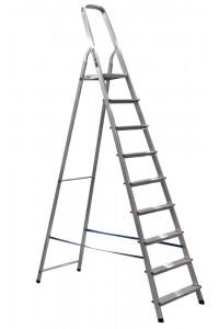 Стремянка 9-и ступенчатая (AM709) Лестница