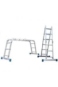 Лестница алюминиевая шарнирная (T455) Лестница