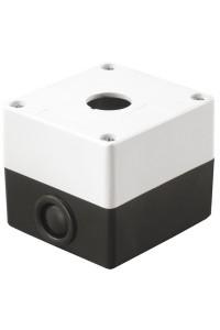 Корпус КП101 для кнопок 1 место белый (BKP10-1-K01) Корпус для кнопочных постов