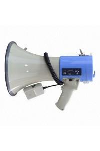 MP-30M Мегафон, функции сирена, свисток и гонг, usb