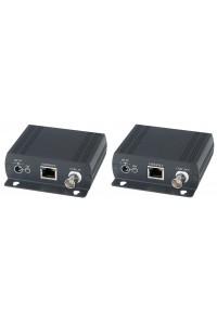 IP02EP Удлинитель Ethernet с PoE по коаксиальному кабелю