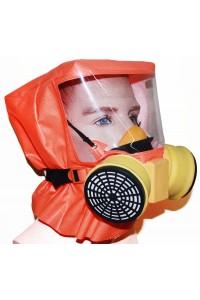 Шанс-Е с полумаской Самоспасатель фильтрующий с полумаской