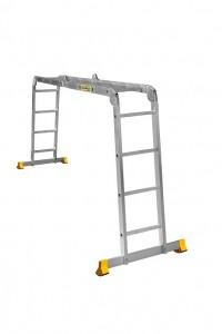 Лестница алюминиевая шарнирная (T444) Лестница