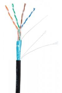 F/UTP 4pair, Cat5е, Out, PE (EC-UF004-5E-PE-BK) Кабель «витая пара» (LAN) для структурированных систем связи