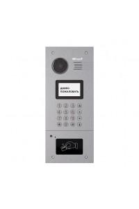 AA-05M SILVER Вызывная панель подъездного IP-домофона