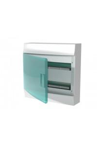 Бокс Mistral41 8 модулей (1SPE007717F9991) Щиток модульный с прозрачной дверцей, настенный