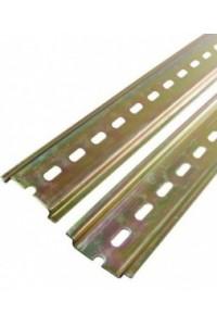 DIN-рейка 20см оцинкованная (YDN10-0020) DIN-рейка