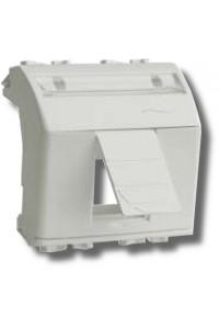 Адаптер для информационных разъемов Keystone, 2 модуля (76613B) Адаптер для информационных разъемов