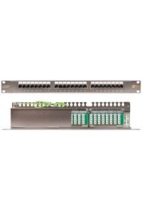 NMC-RP24UD2-1U-BK Патч-панель