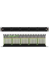 NMC-RP50UC3-1U-BK Патч-панель