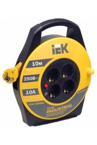 УК10 4 места, 10м (WKP14-10-04-10) Удлинитель на катушке