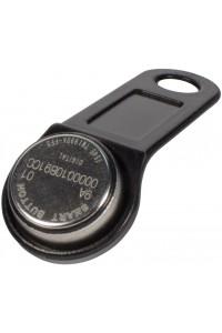 DS 1990А-F5 (черный) Ключ электронный Touch Memory с держателем