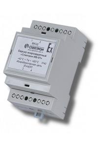 Спектрон-ИБ-02 Барьер искрозащиты шлейфов сигнализации, одноканальный