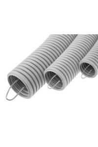 Труба ПВХ гибкая с зондом D=20 (10120-E90) Труба гофрированная