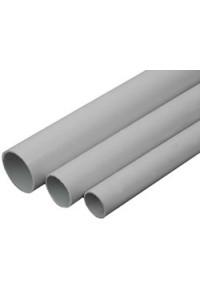 Труба ПВХ жесткая гладкая D=20 (30020-E90) Труба жесткая гладкая