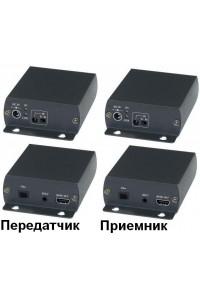 HE01F Удлинитель HDMI, ИК-сигнала, RS232