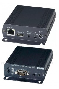 HE05BR Приемник HDMI, RS232, аудио и ИК-сигналов