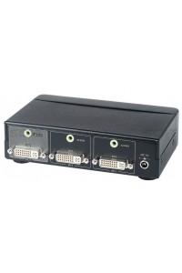 DS02A Коммутатор DVI- и стерео аудиосигналов